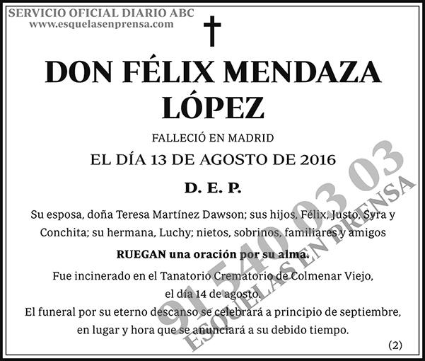 Félix Mendaza López